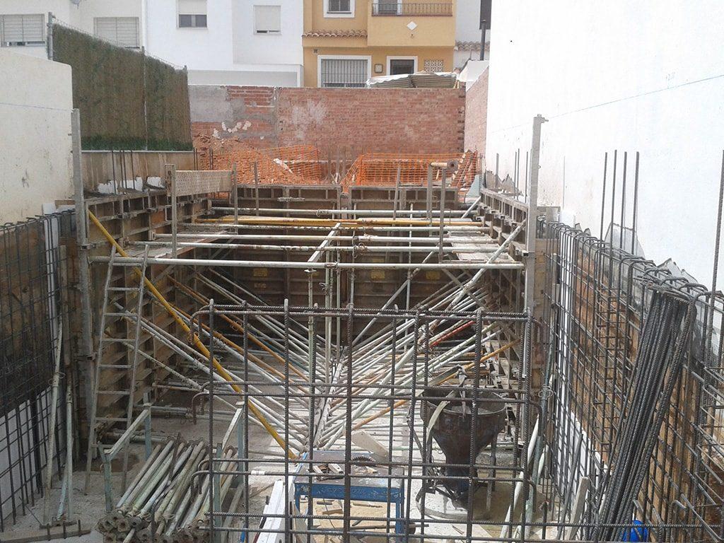 Construcción nueva vivienda unifamiliar en calle Juno