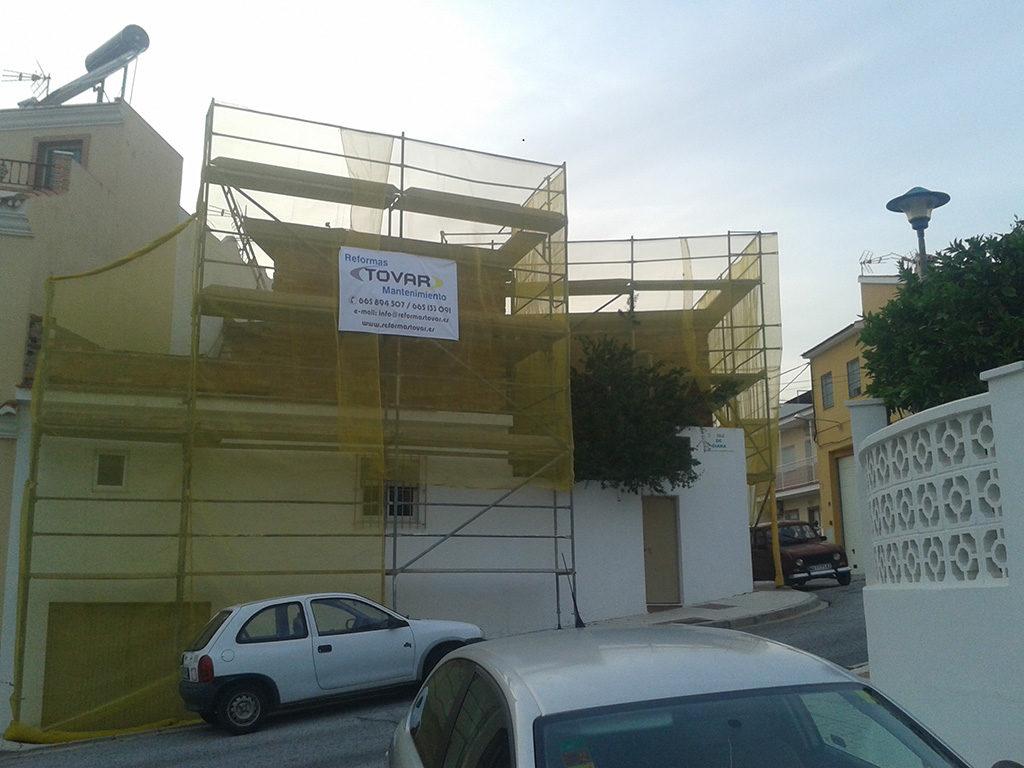 Enfoscado e impermeabilización de cubierta en Málaga - 1