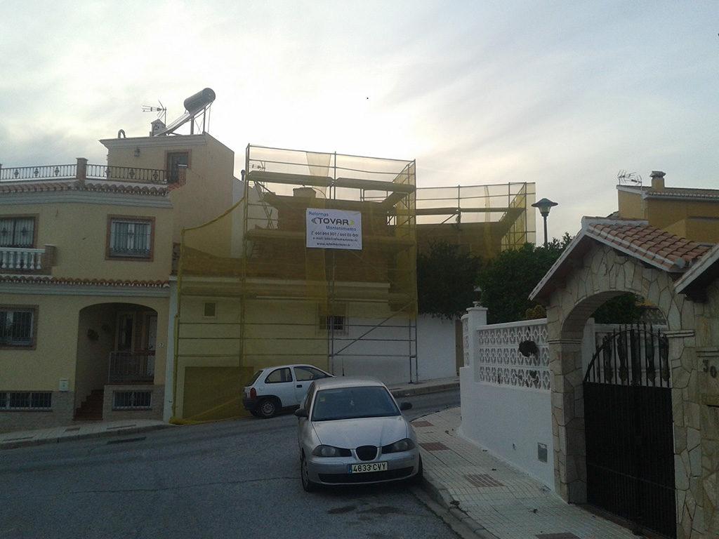 Enfoscado e impermeabilización de cubierta en Málaga - 2