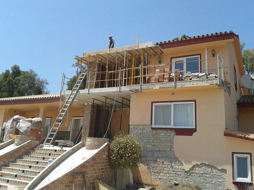 Reforma de tejado y piscina Marbella - Cabopino - 1
