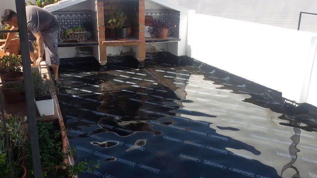 Impermeabilización de terrazas en Málaga