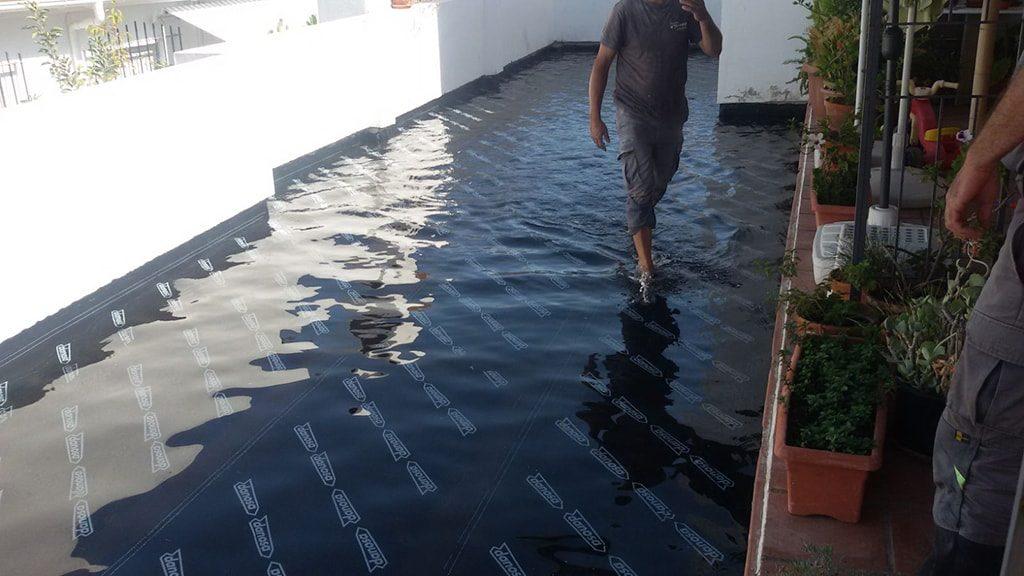 Reparacion filtraciones terrazas Málaga
