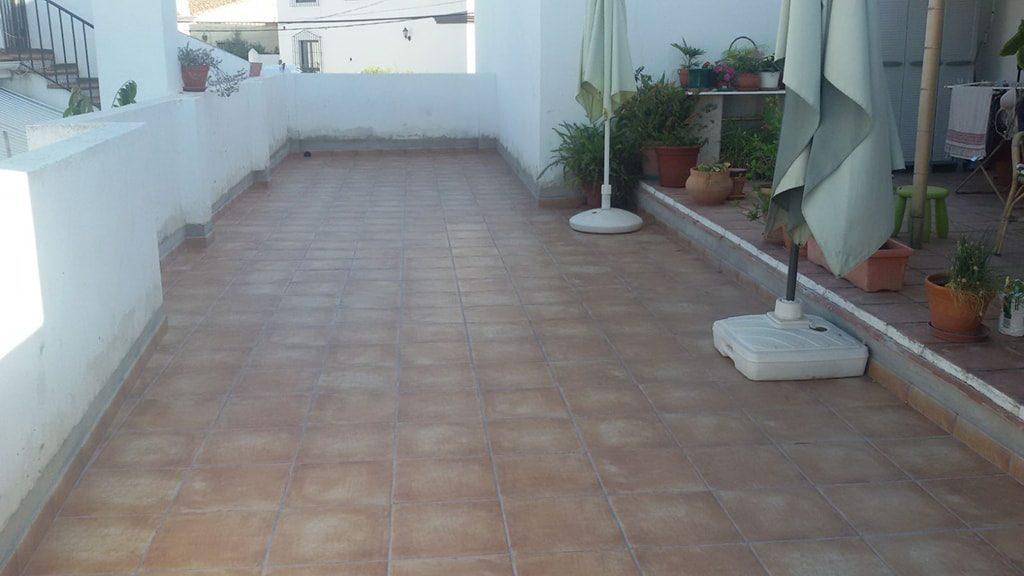 Reparación de terrazas