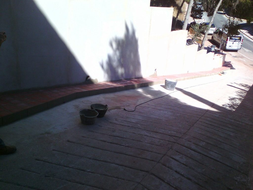 Construcción de muro Málaga