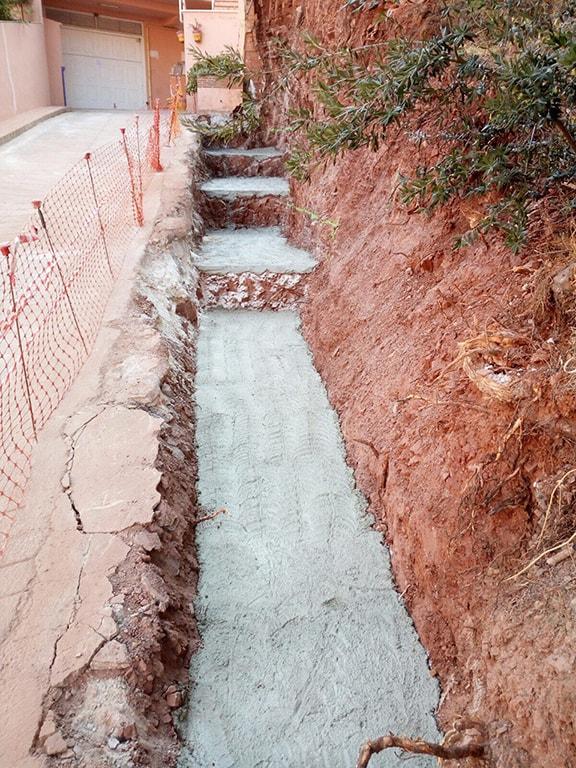 Construcción muro