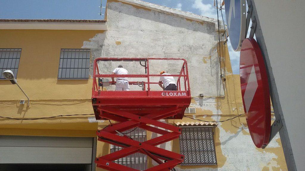 Pintar fachada Málaga