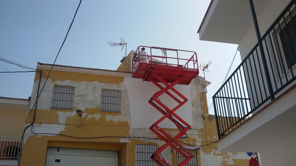 Pintar pared exterior
