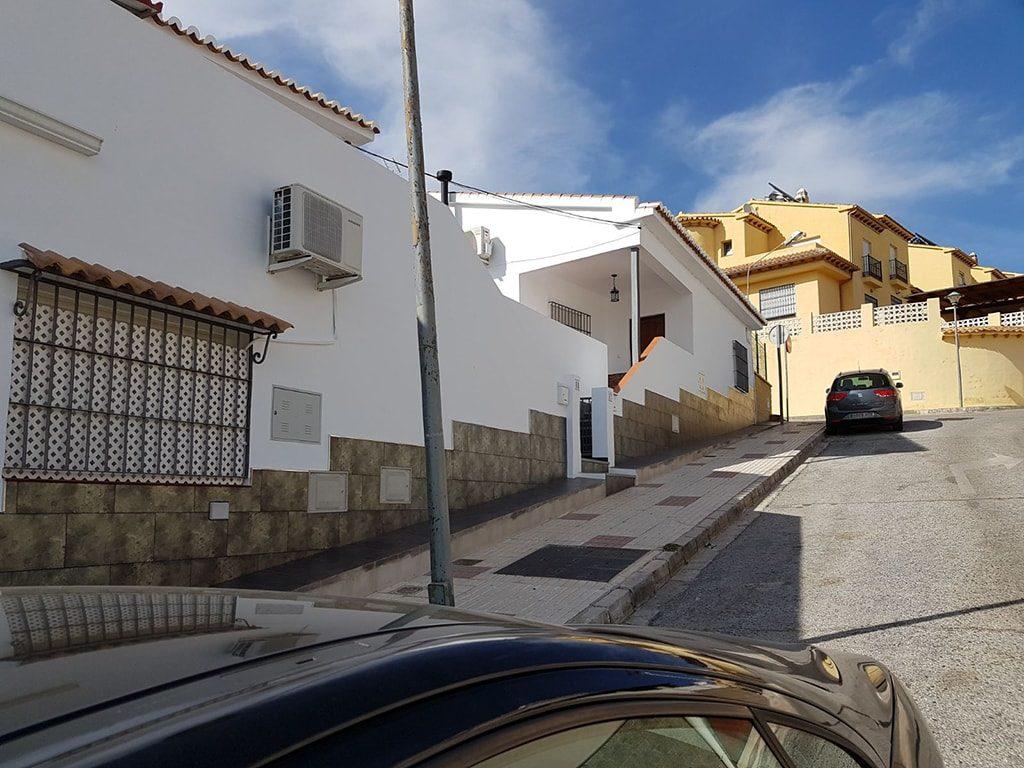 Pintura pared exterior Málaga