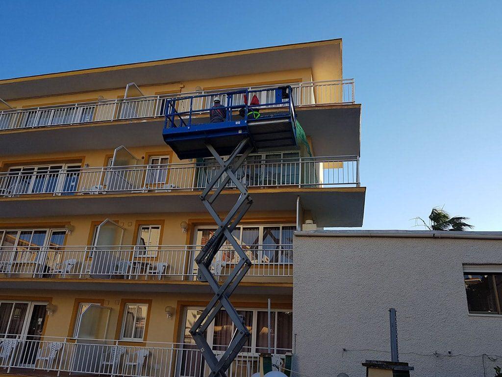 Reparación fachadas