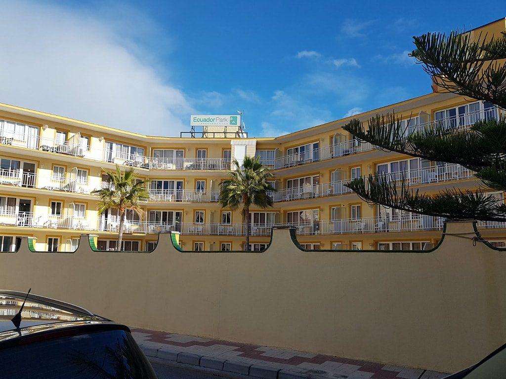 Reparación hotel