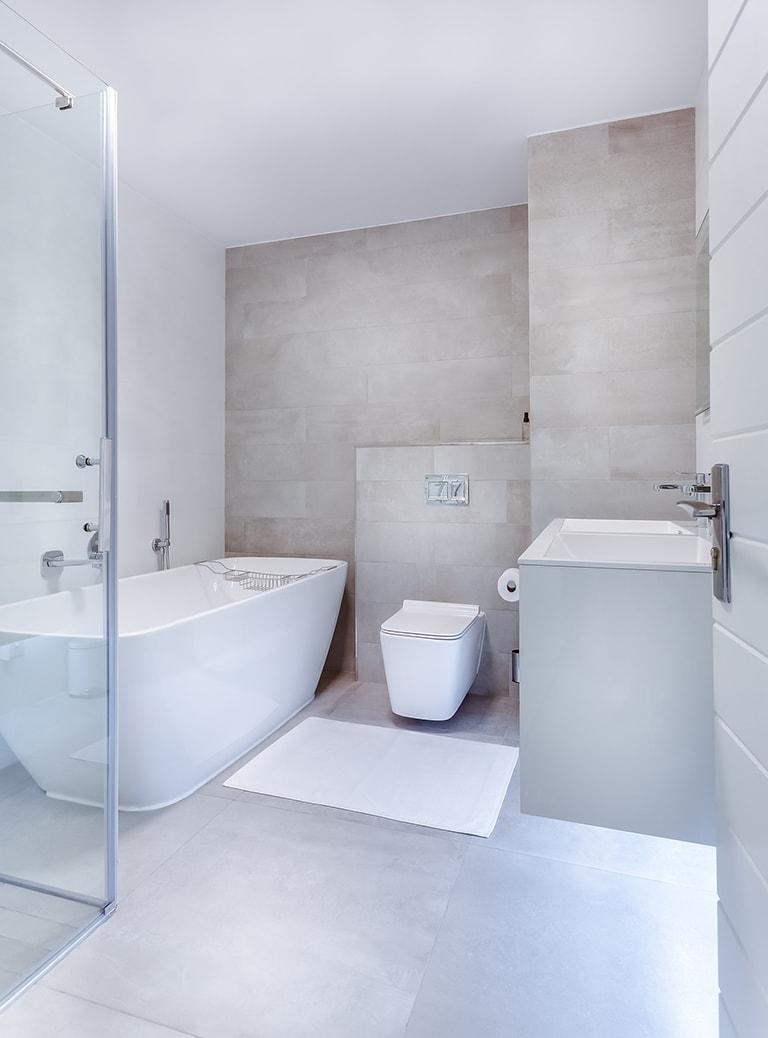 revestimiento baños gresite