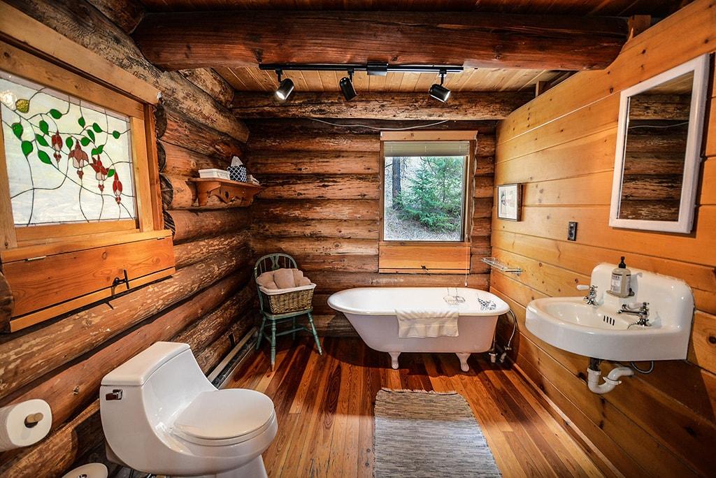 Revestimiento baños madera