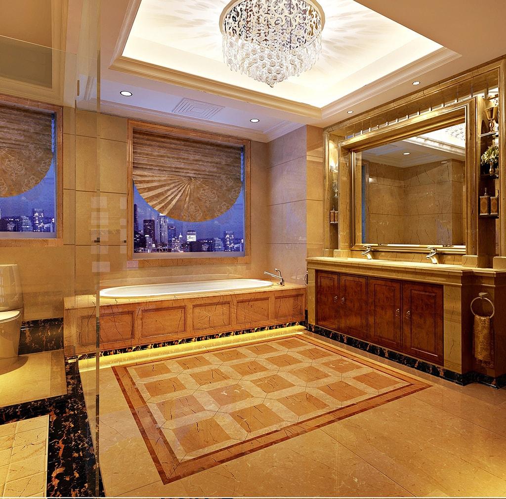 Revestimiento baños marmol